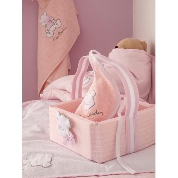 Σαλιάρα Pierre Cardin Bear Pink 136