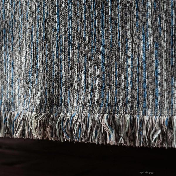 Ριχτάρι Πολυθρόνας (180x180) Gofis Home Renkly Blue 645/01