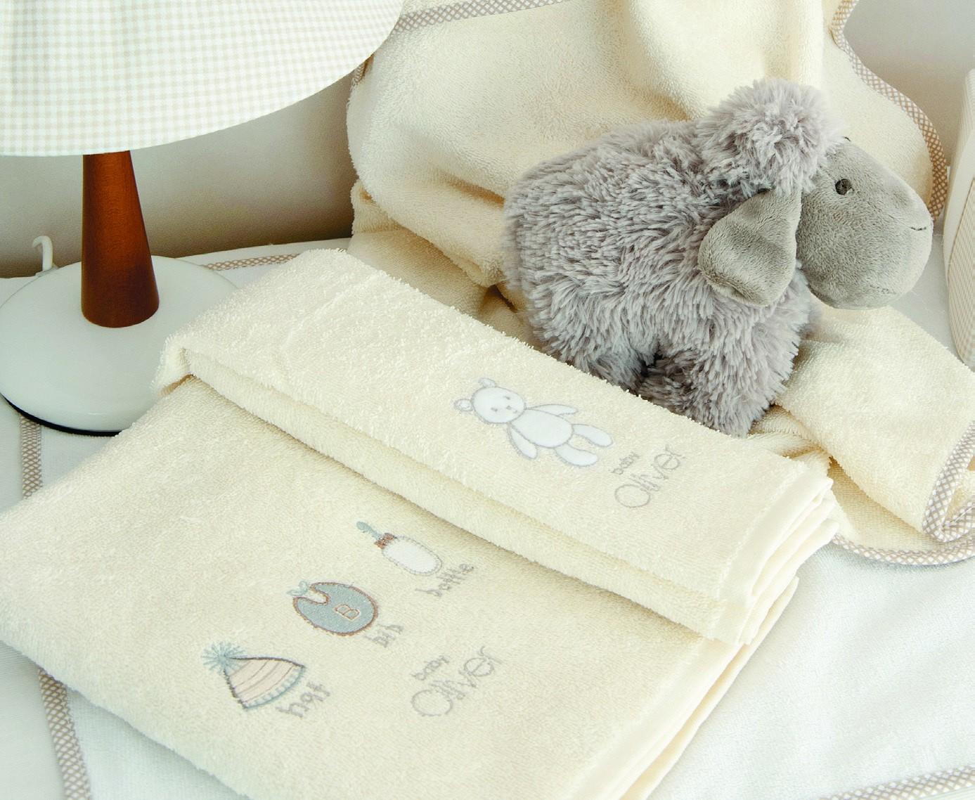 Βρεφικές Πετσέτες (Σετ 2τμχ) Baby Oliver Little Things 610