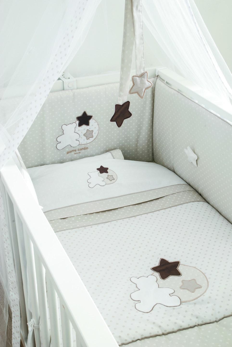 Πάπλωμα Κούνιας Omega Home Star Beige 137
