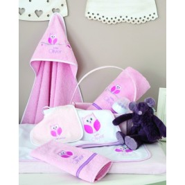 Κάλυμμα Αλλαξιέρας Baby Oliver Pink Owl 630