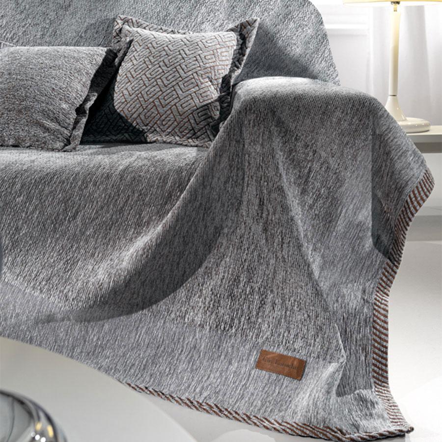 Ριχτάρι Τριθέσιου (180×300) Guy Laroche Piquet Grey