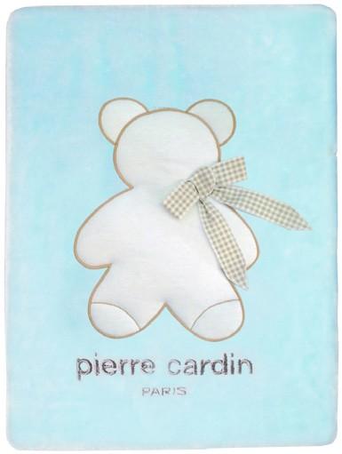 Κουβέρτα Βελουτέ Αγκαλιάς Pierre Cardin Bambino Ciel 143