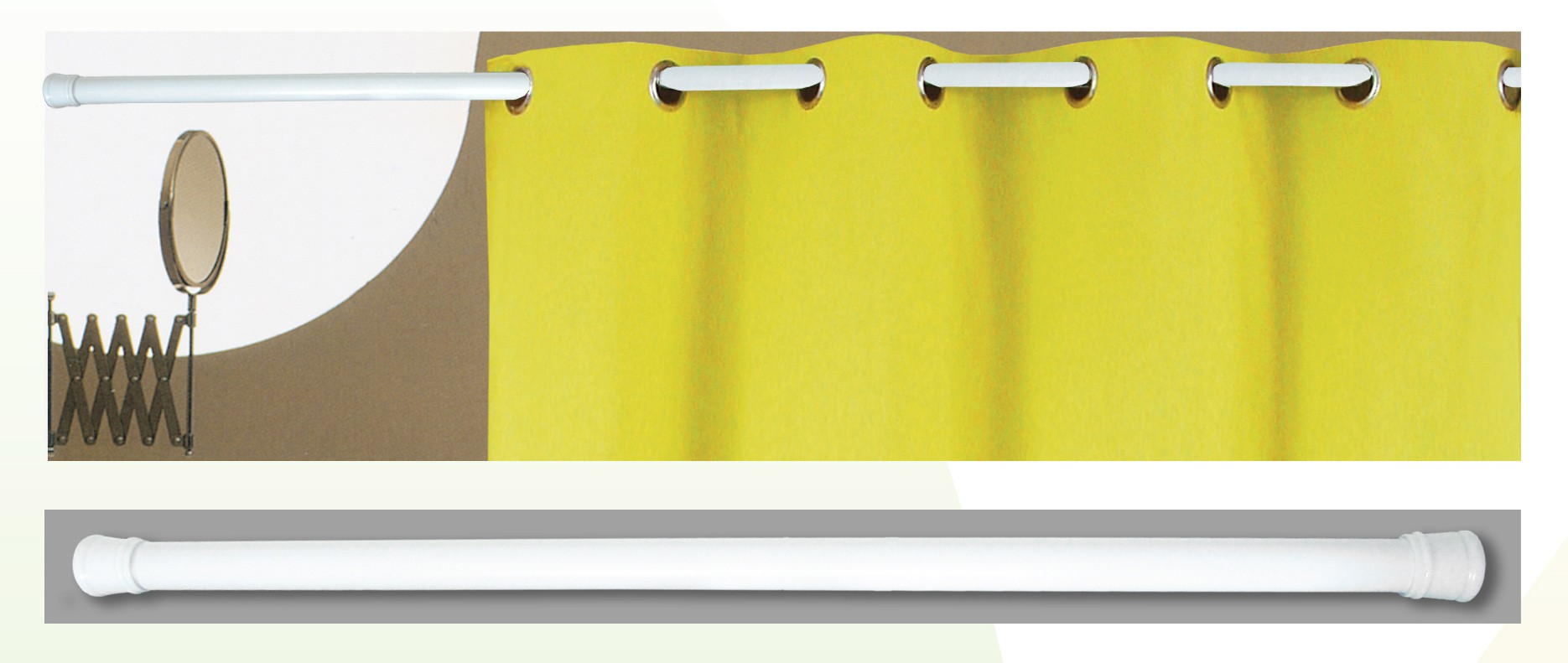 Βραχίονας Μπάνιου Πτυσσόμενος 140-260cm San Lorentzo Color