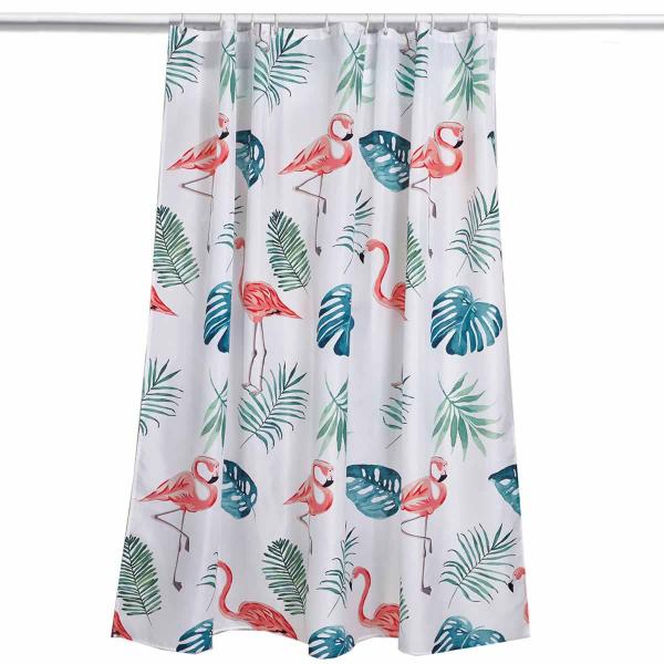 Κουρτίνα Μπάνιου (180x180) Kentia Loft Flamingo