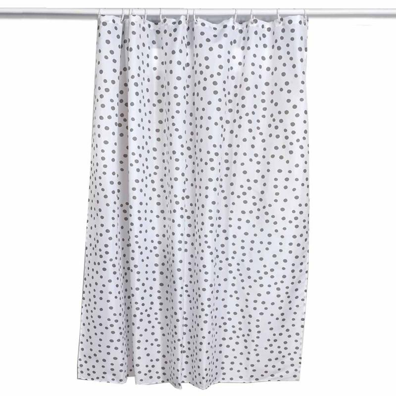 Κουρτίνα Μπάνιου (180x180) Kentia Loft Dots