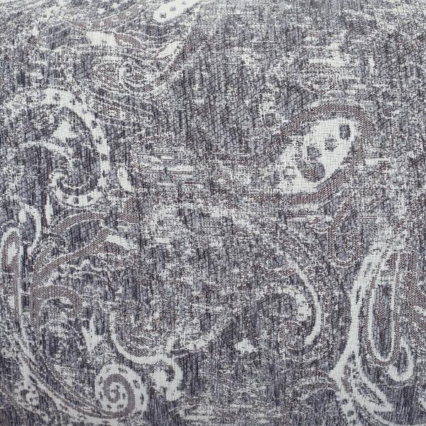 Ριχτάρι Πολυθρόνας (180x180) Melinen Art Dark Grey