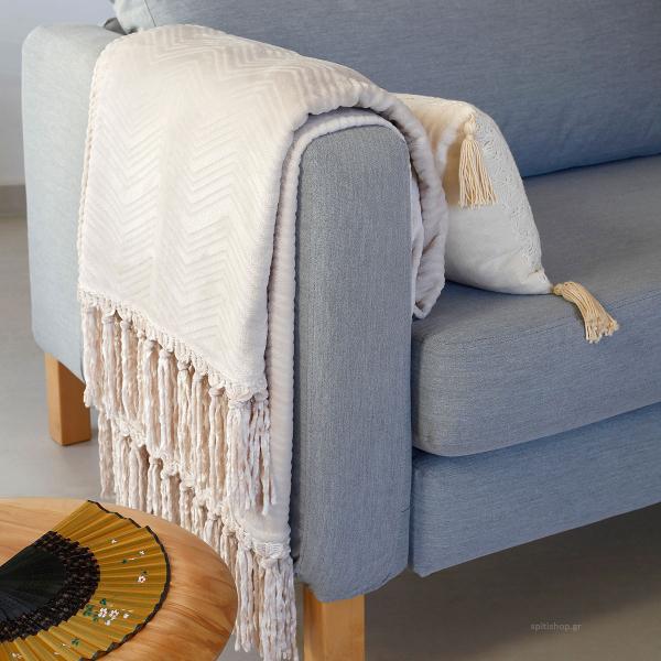 Διακοσμητικό Ριχτάρι Fleece (130x170) Melinen Raquel