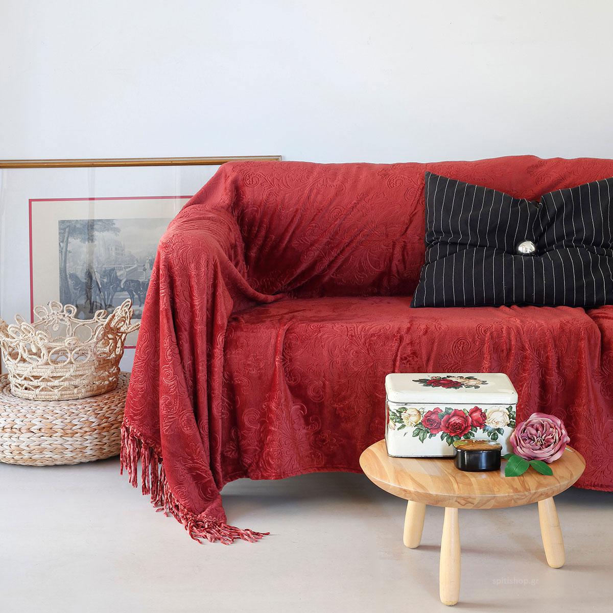 Διακοσμητικό Ριχτάρι Fleece (130×170) Melinen Bimba