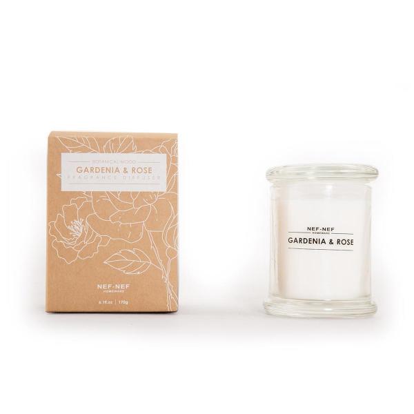Αρωματικό Κερί 170gr Nef-Nef Gardenia & Rose