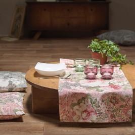 Τραβέρσα Gofis Home Anthea 649 Pink