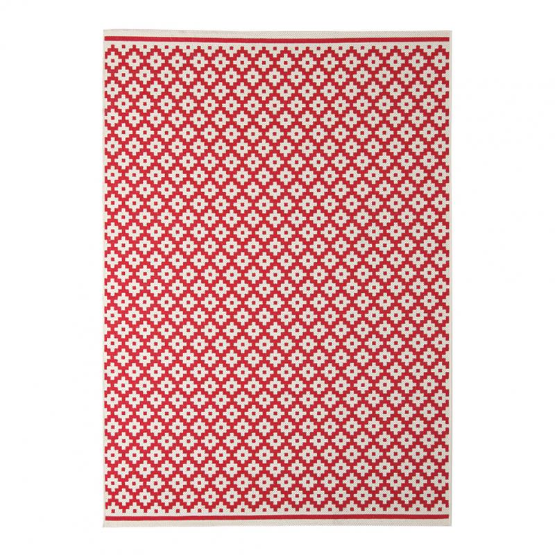 Χαλί Καλοκαιρινό (140x200) Royal Carpets Flox 722 Red