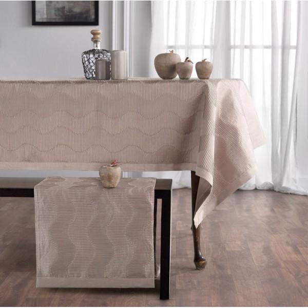 Τραβέρσα (45x220) Gofis Home Nami 375 Beige