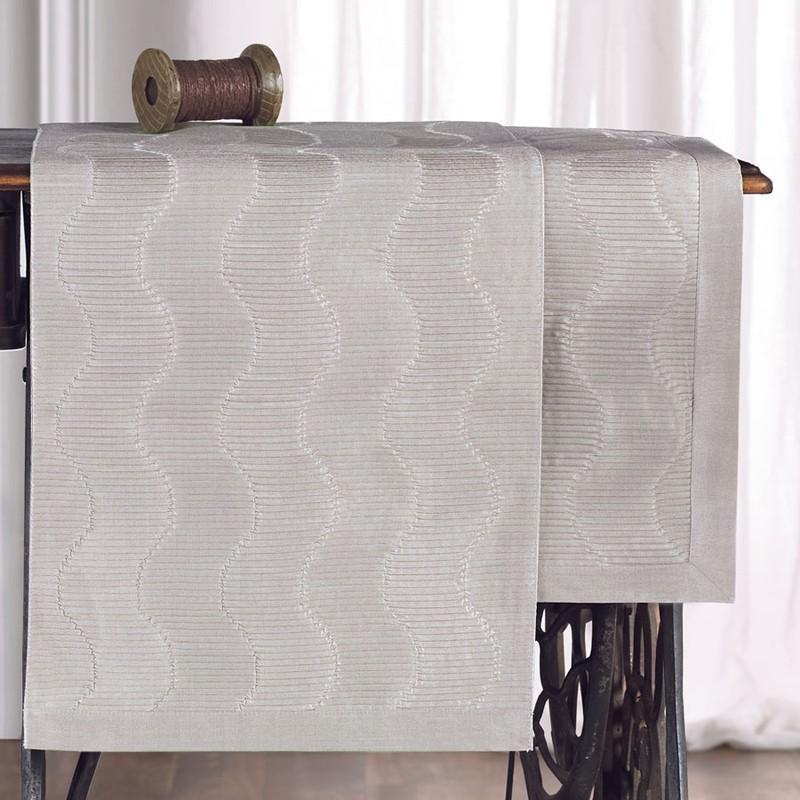 Τραβέρσα (45×220) Gofis Home Nami 375 Grey