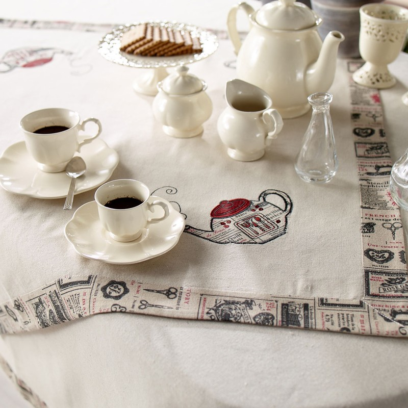 Καρέ Διακόσμησης Gofis Home Tea Pot 208