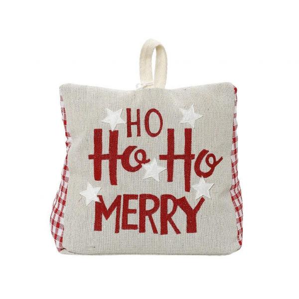 Χριστουγεννιάτικο Στοπ Πόρτας Espiel Merry Ho Ho DOG415