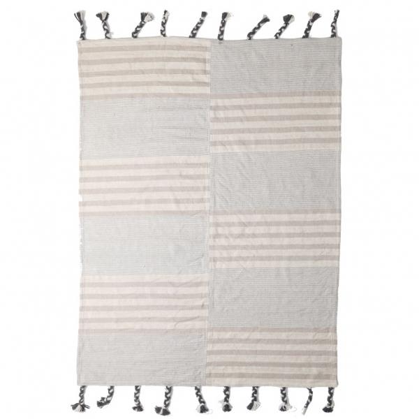 Χαλί All Season (140x200) Royal Carpets Lotus Cotton Kilim 065 Grey