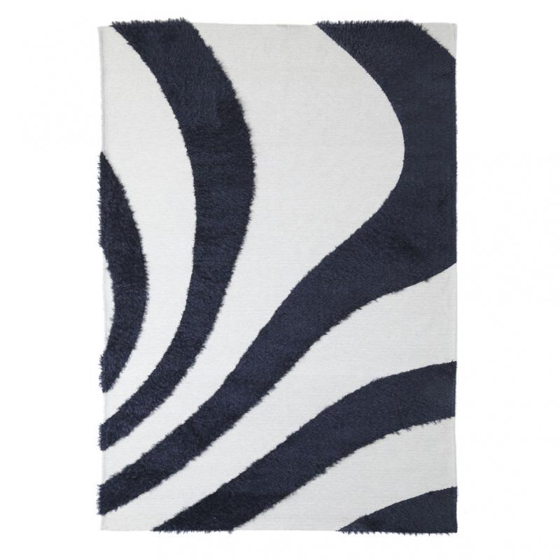 Χαλί All Season (140x200) Royal Carpets Toscana Branco Black/White