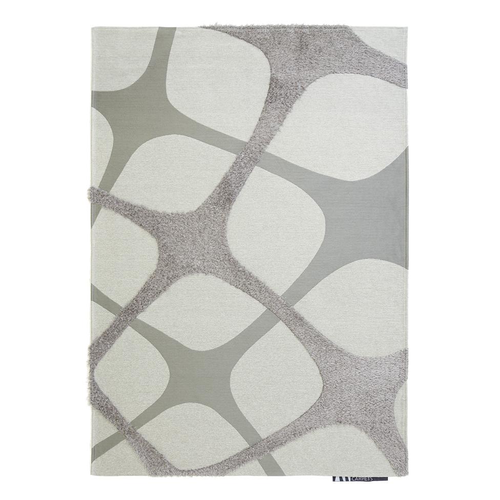 Χαλί Διαδρόμου (68×220) Royal Carpets Toscana Inno White Silver