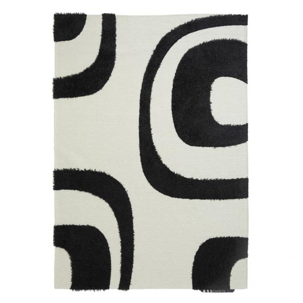 Χαλί All Season (160x230) Royal Carpets Toscana Shira Black/White