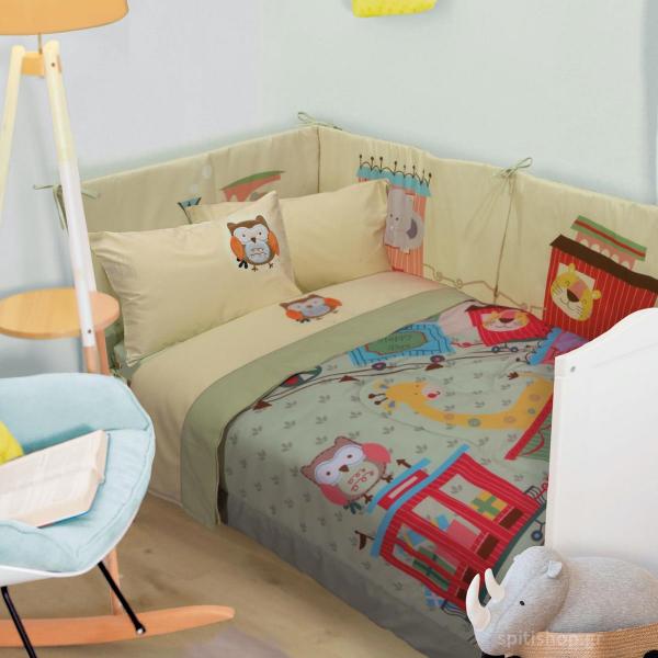 Πάπλωμα Κούνιας Das Home Smile Line 6597