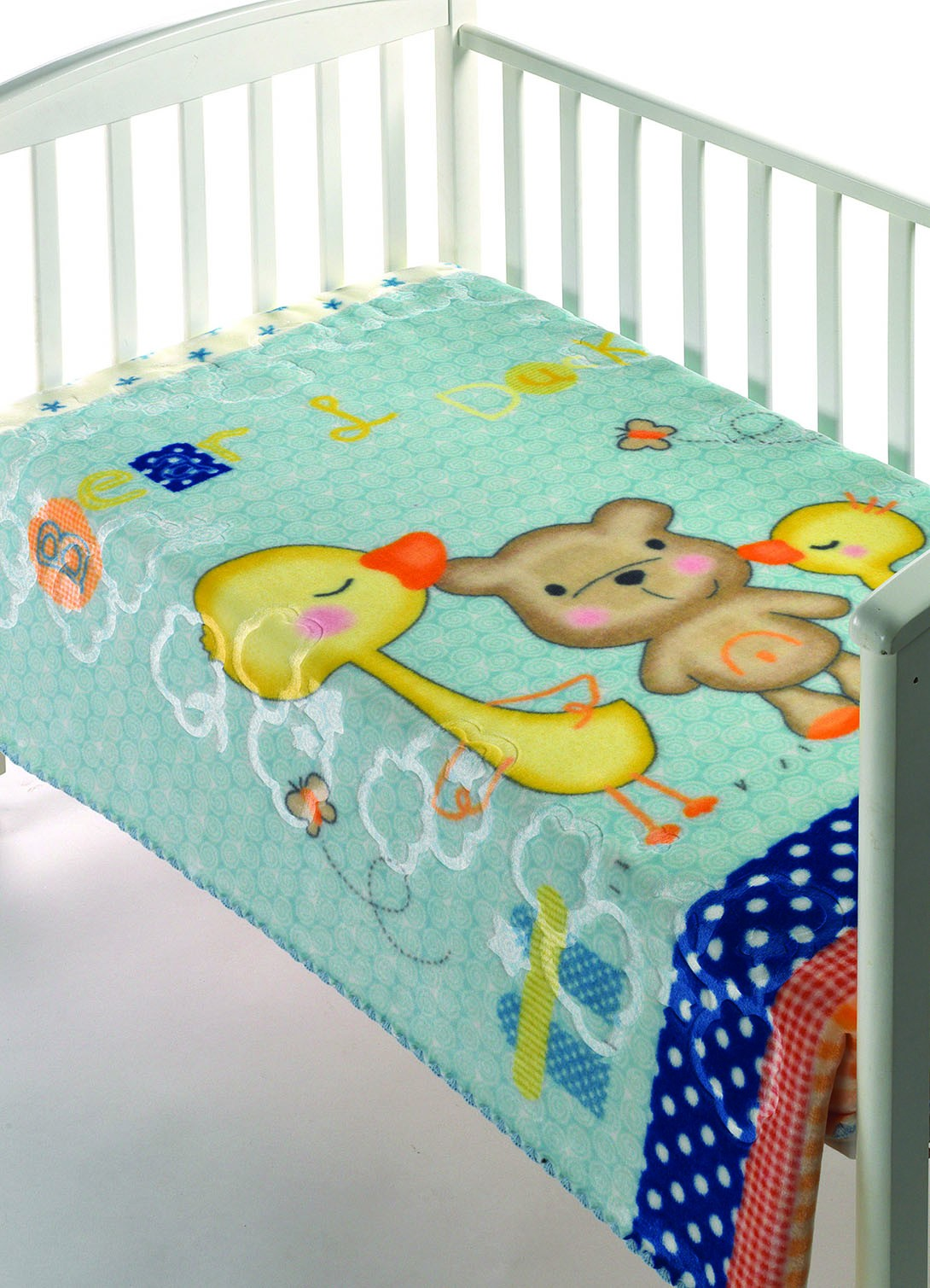 Κουβέρτα Βελουτέ Αγκαλιάς Morven Luxury Plus 276 Σιέλ home   βρεφικά   κουβέρτες βρεφικές   κουβέρτες βελουτέ