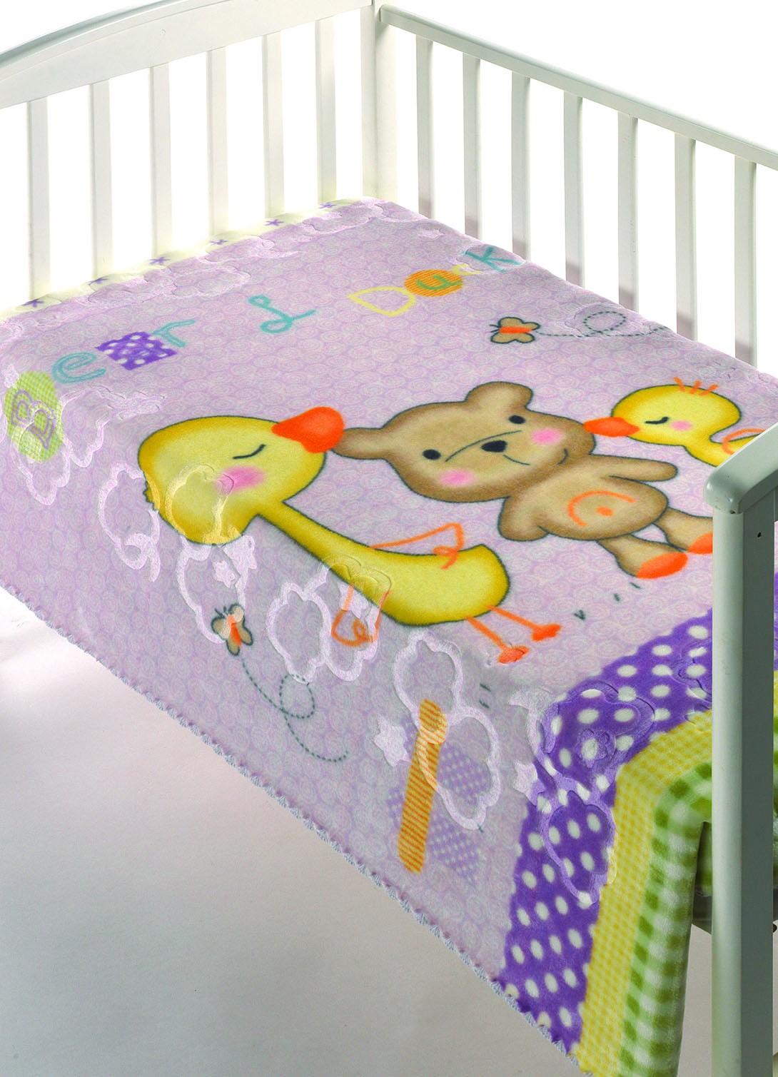 Κουβέρτα Βελουτέ Αγκαλιάς Morven Luxury Plus 276 Λιλά home   βρεφικά   κουβέρτες βρεφικές   κουβέρτες βελουτέ
