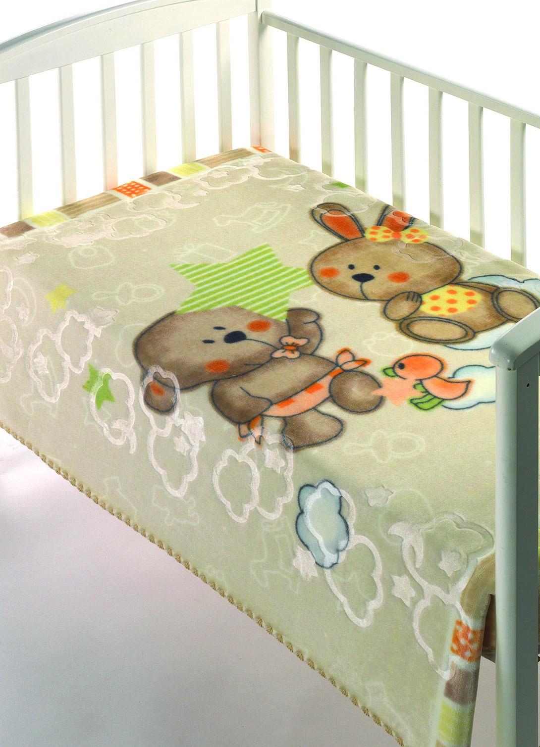Κουβέρτα Βελουτέ Αγκαλιάς Morven Luxury Plus 275 Μπεζ home   βρεφικά   κουβέρτες βρεφικές   κουβέρτες βελουτέ