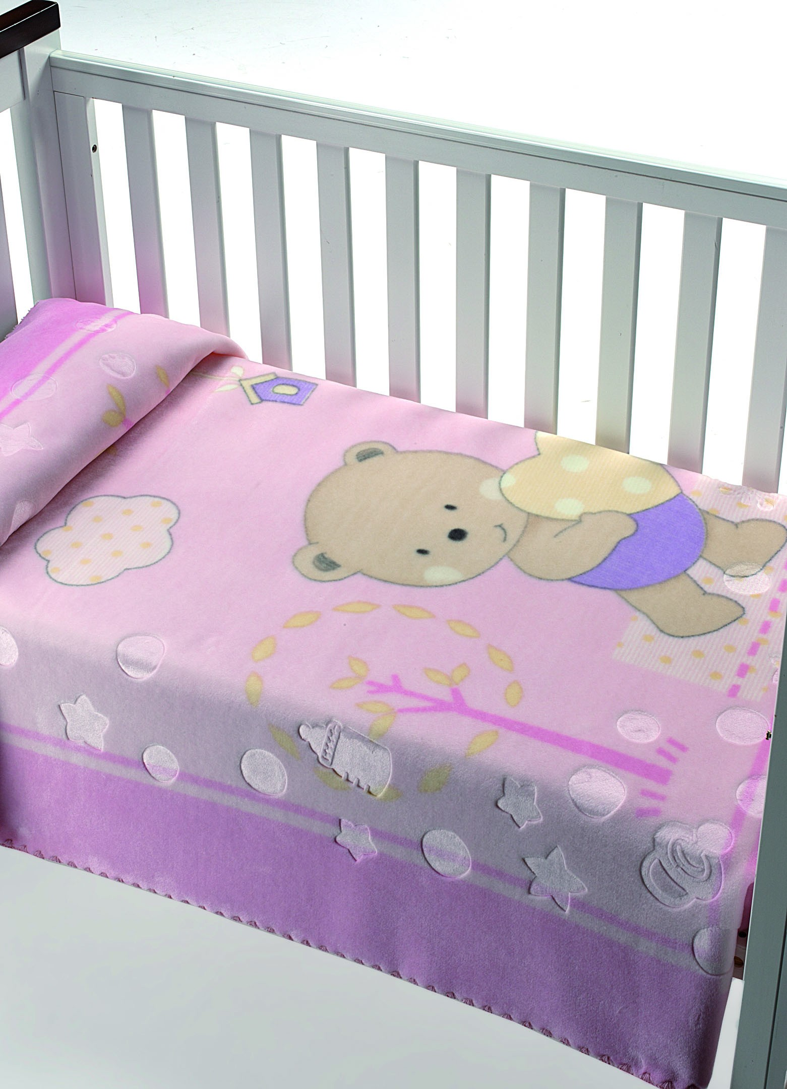 Κουβέρτα Βελουτέ Αγκαλιάς Morven Luxury Plus 826 Ροζ