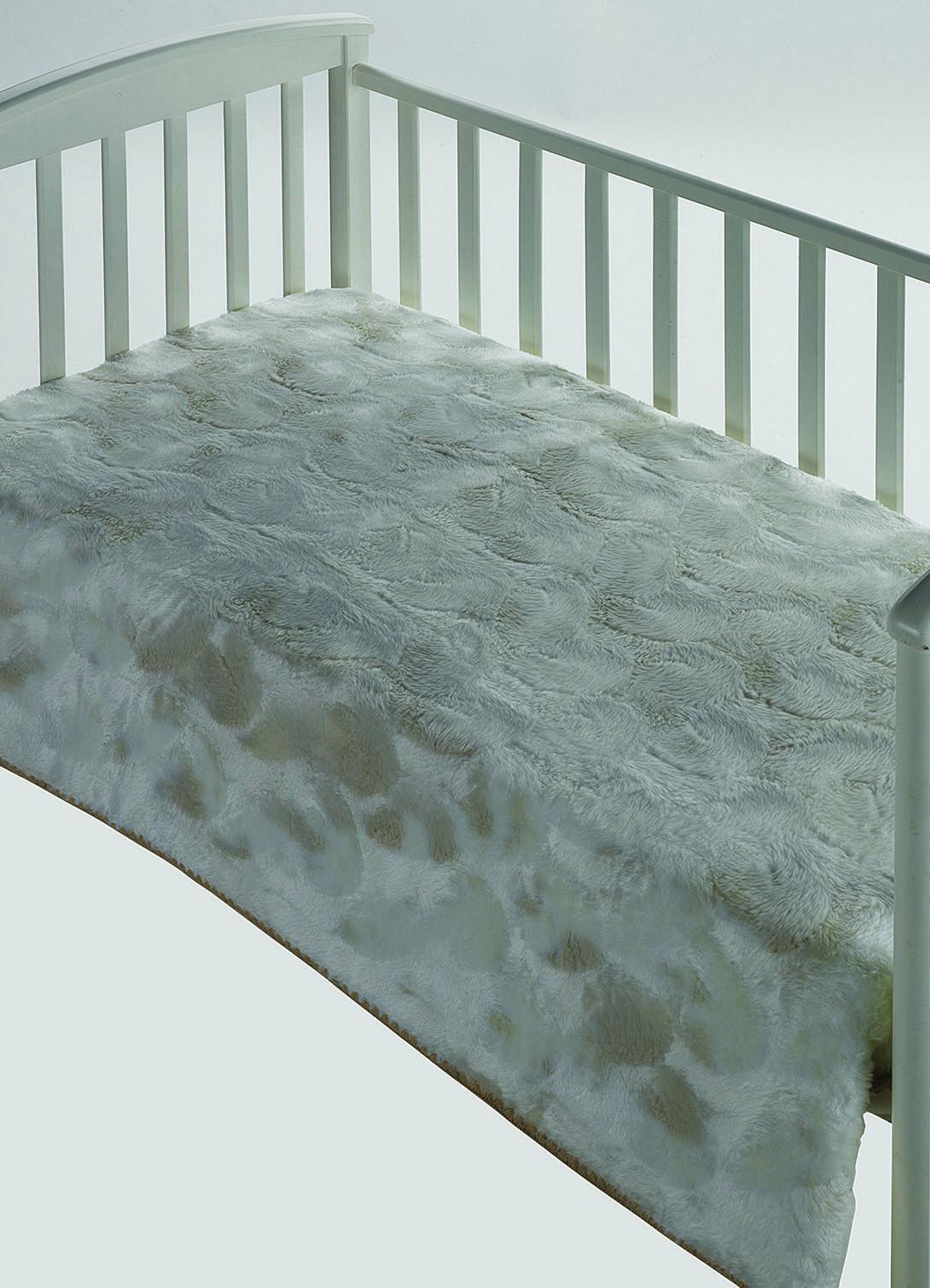 Κουβέρτα Βελουτέ Αγκαλιάς Morven Morapel Luxe 828 Μπεζ home   βρεφικά   κουβέρτες βρεφικές   κουβέρτες βελουτέ