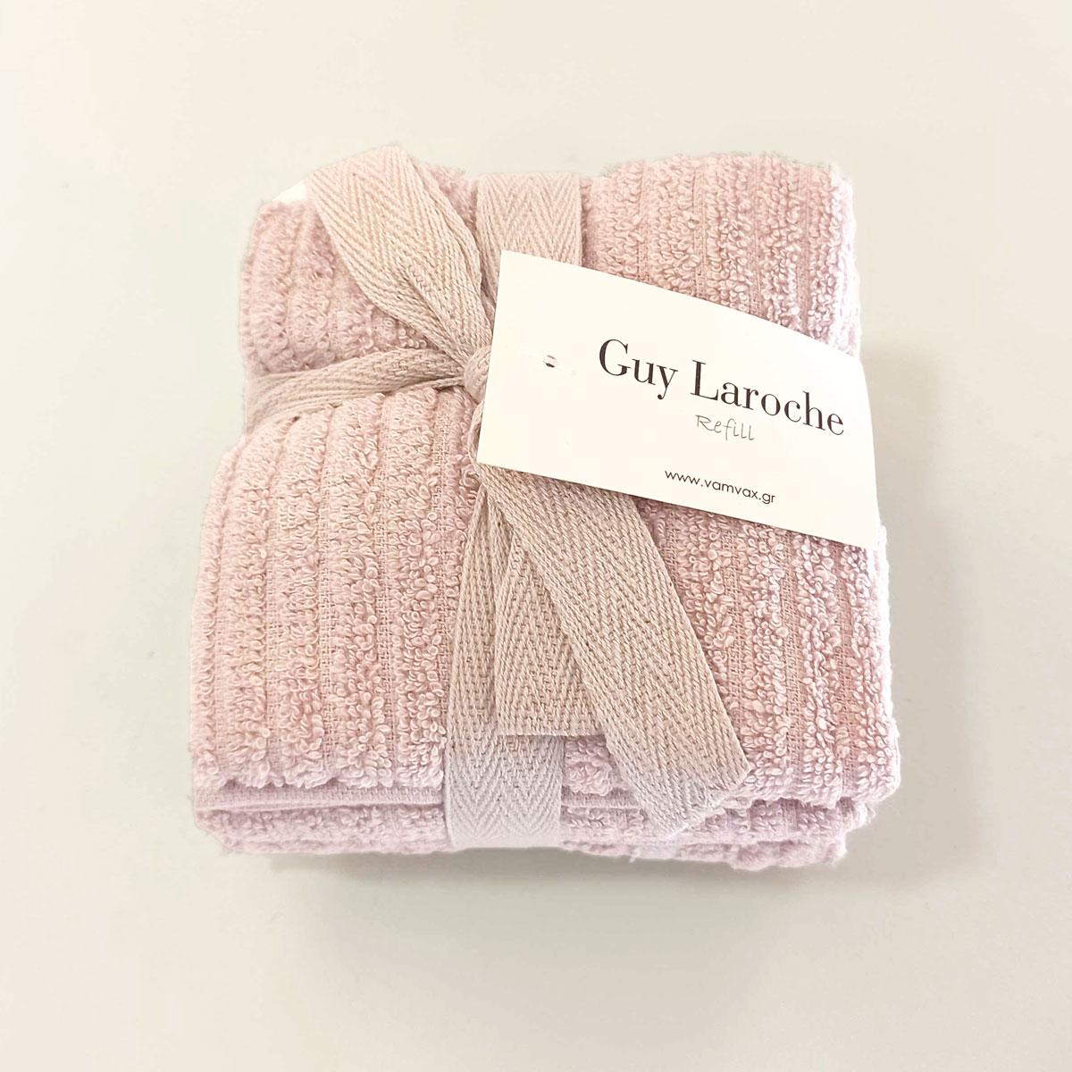 Λαβέτες (Σετ 6τμχ) Guy Laroche Guest Refill Lilac
