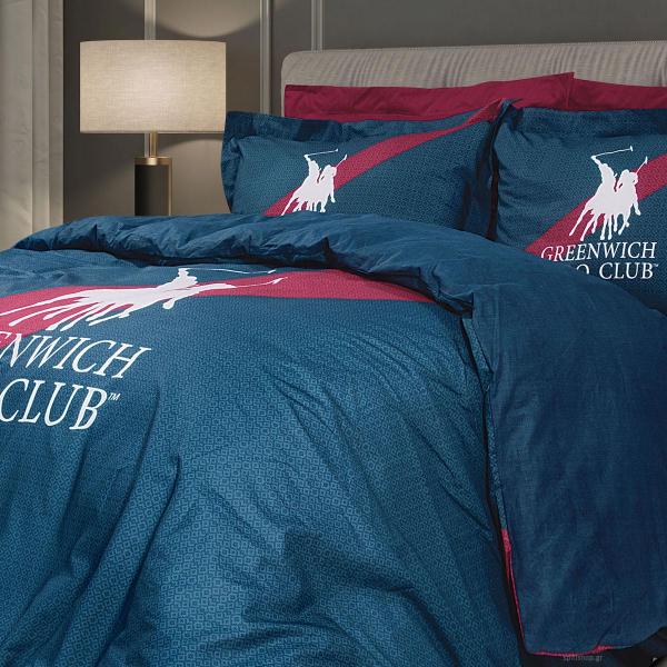 Παπλωματοθήκη Υπέρδιπλη (Σετ) Greenwich Polo Club 2097
