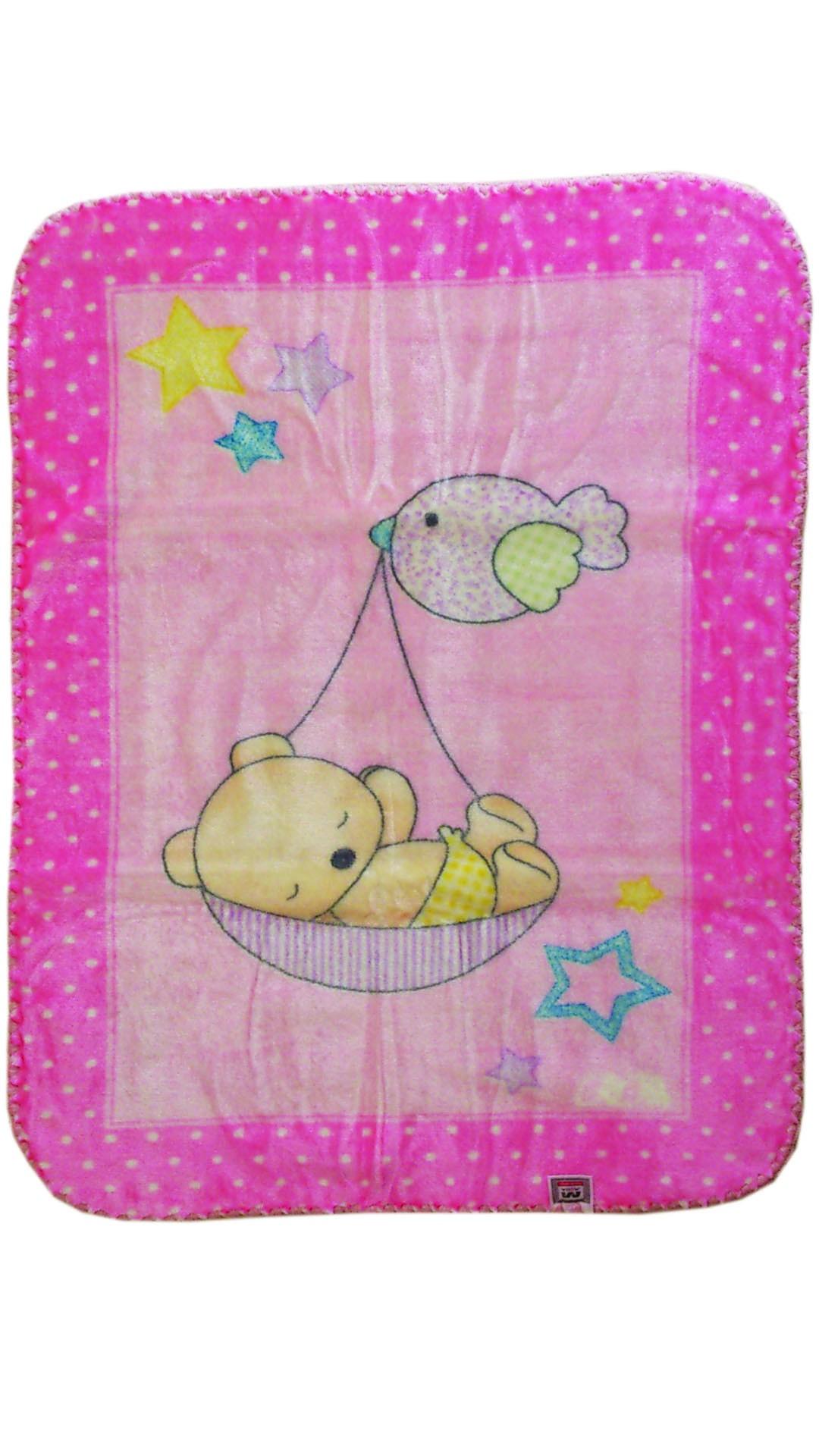 Κουβέρτα Βελουτέ Αγκαλιάς Morven Piccola 050 Ροζ