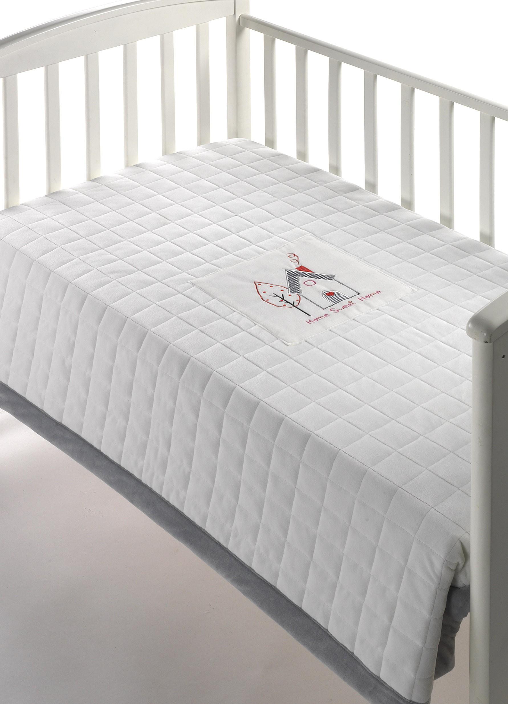 Κουβέρτα Fleece Κούνιας Morven Peques 209 Γκρι