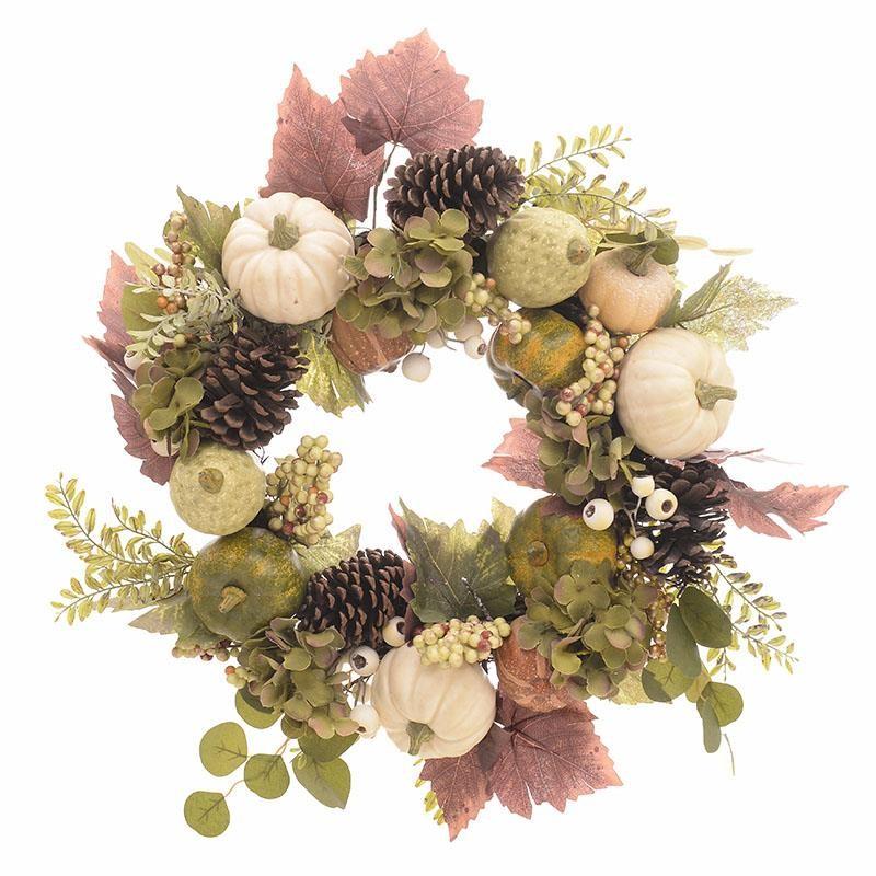 Διακοσμητικό Στεφάνι Λουλουδιών InArt 2-85-083-0133