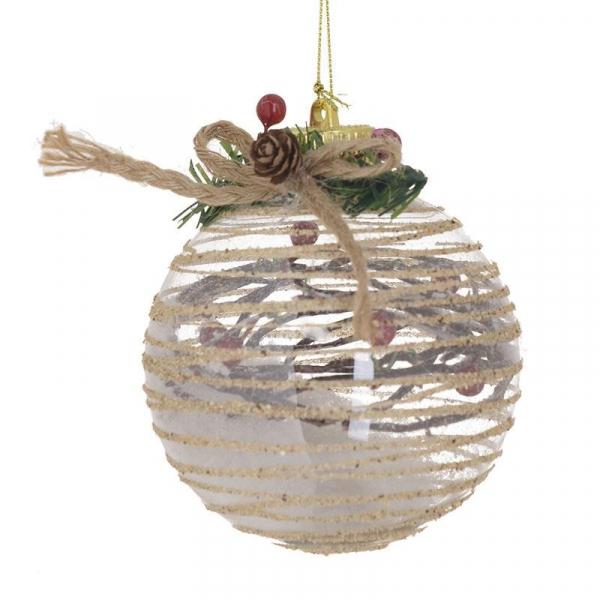 Χριστουγεννιάτικα Στολίδια (Σετ 4τμχ) InArt 2-70-675-0541