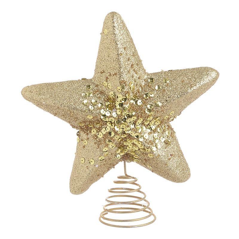 Κορυφή Δέντρου Αστέρι Χρυσό InArt 2-70-675-0636