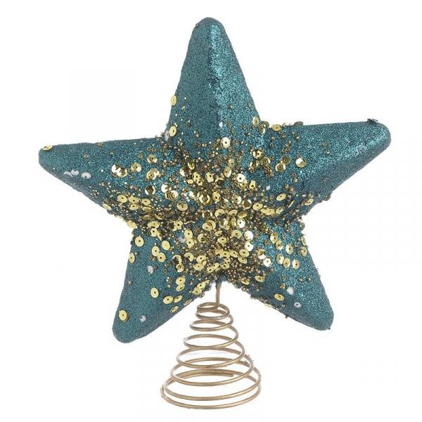 Κορυφή Δέντρου Αστέρι Πετρόλ InArt 2-70-675-0637