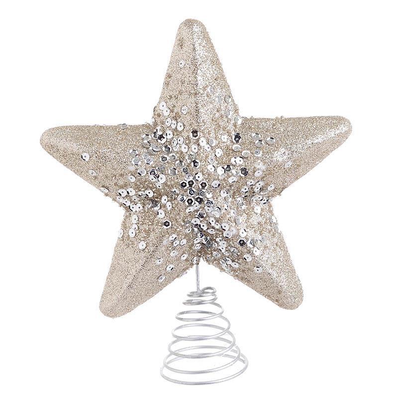 Κορυφή Δέντρου Αστέρι Σαμπανί InArt 2-70-675-0638