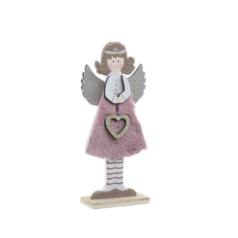 Χριστουγεννιάτικο Διακοσμητικό InArt Άγγελος 2-70-126-0037