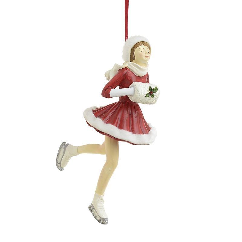 Χριστουγεννιάτικα Στολίδια (Σετ 2τμχ) InArt Πατινέρ 2-70-979-0005