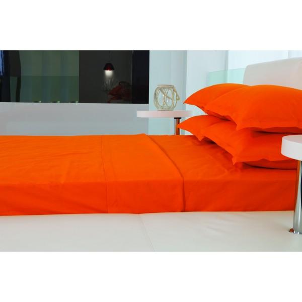 Παπλωματοθήκη Υπέρδιπλη (Σετ) Makis Tselios Nuovo Orange
