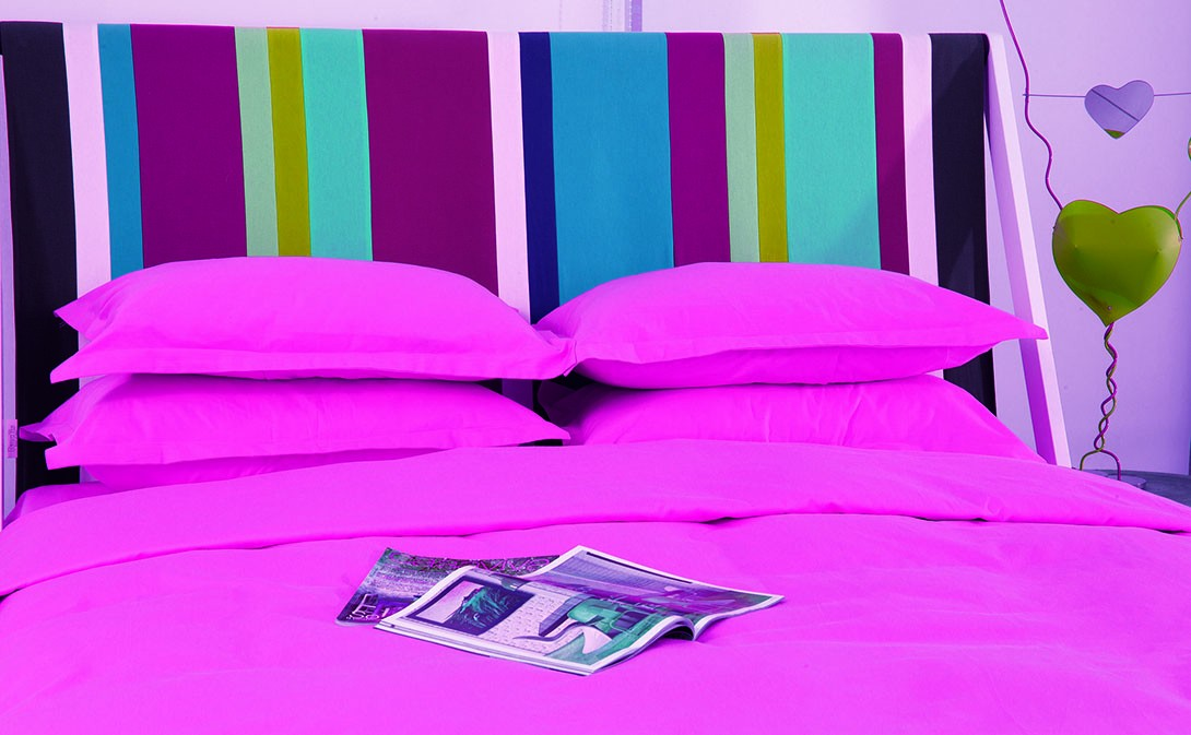 Παπλωματοθήκη Υπέρδιπλη (Σετ) Makis Tselios Nuovo Pink
