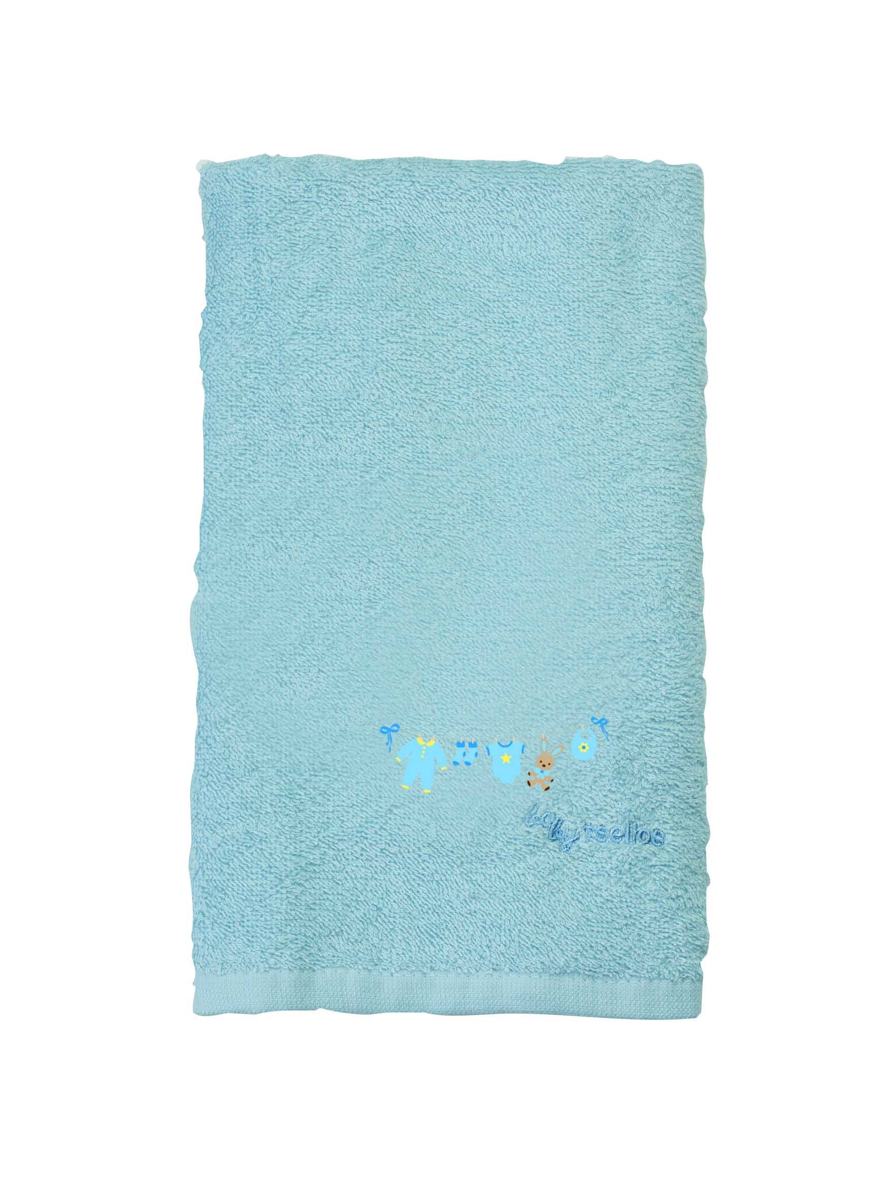Βρεφικές Πετσέτες (Σετ 2τμχ) Makis Tselios Baby Clothes Blue home   βρεφικά   πετσέτες βρεφικές