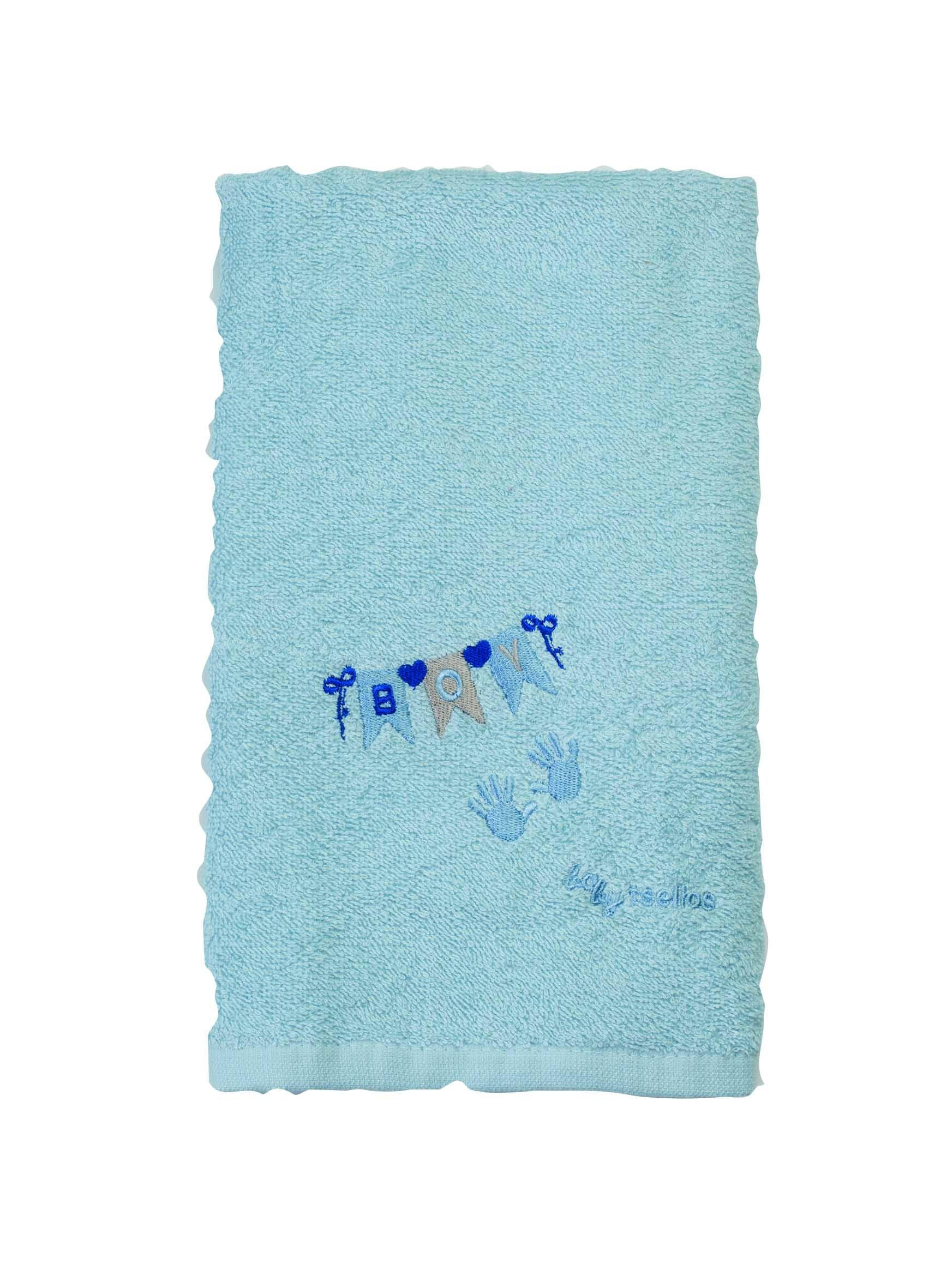 Βρεφικές Πετσέτες (Σετ 2τμχ) Makis Tselios Baby Party Blue