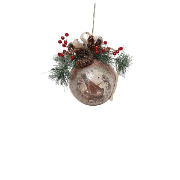 Χριστουγεννιάτικο Στολίδι Espiel FTE249K6