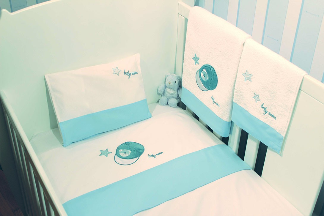 Σεντόνια Κούνιας (Σετ) Makis Tselios Baby Base