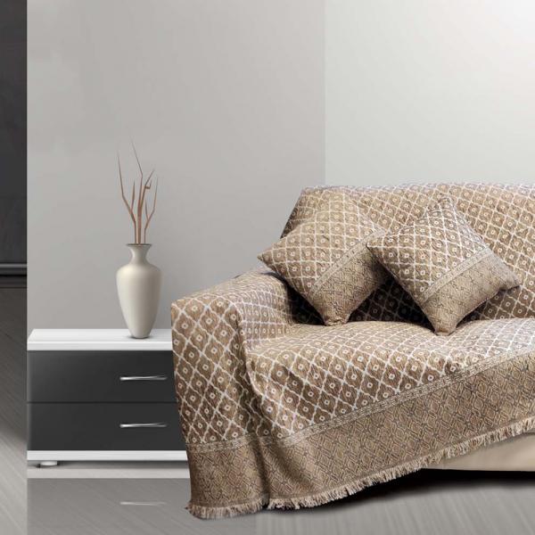 Ριχτάρι Τριθέσιου (180x300) Sb Home Toulouse Beige