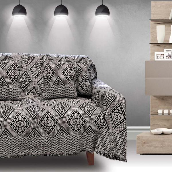 Ριχτάρι Τριθέσιου (180x300) Sb Home Tivoli Black