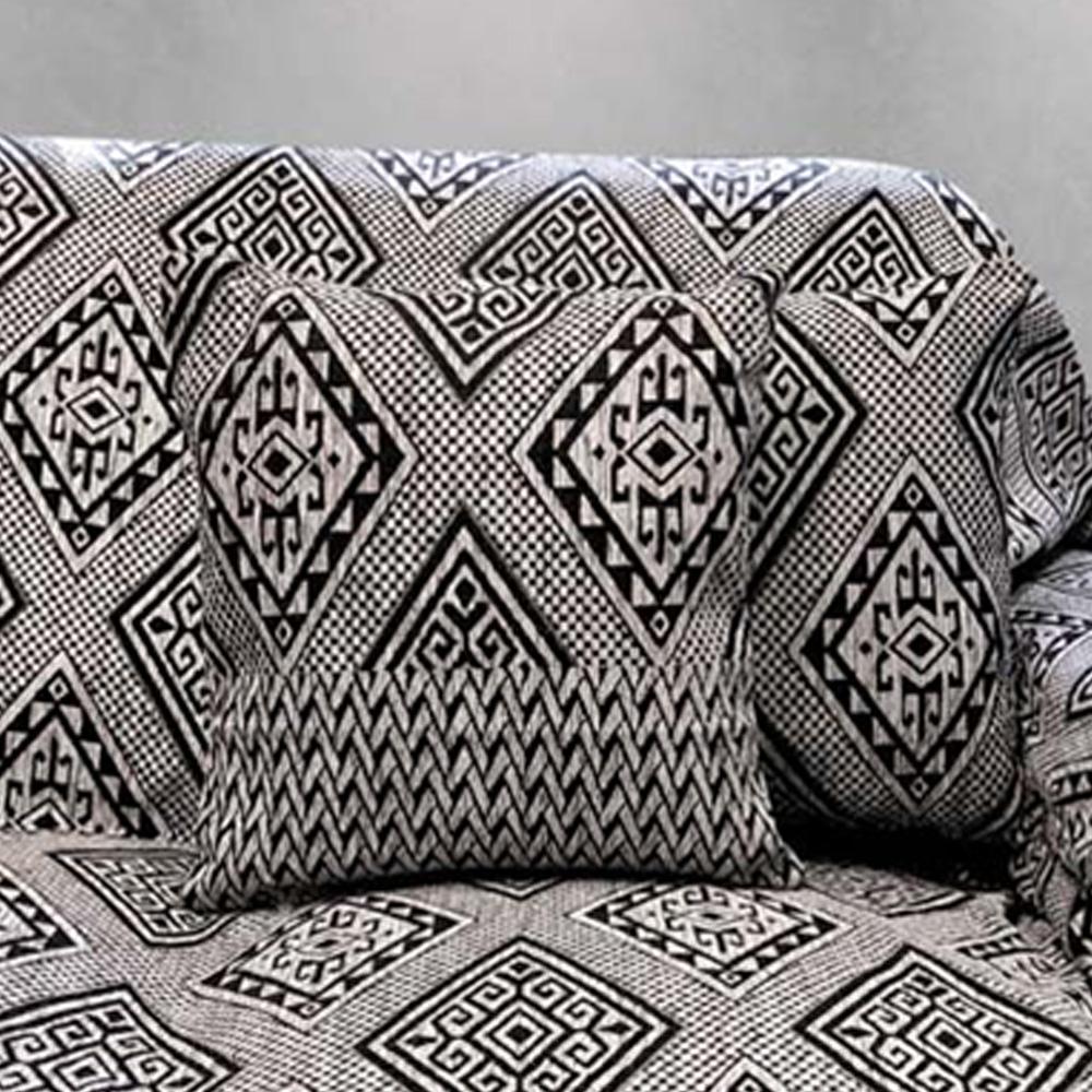 Διακοσμητική Μαξιλαροθήκη (40×40) Sb Home Tivoli Black
